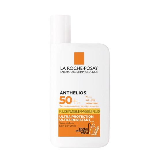 Солнцезащитный невидимый флюид для лица и кожи вокруг глаз SPF 50+, La Roche Posay