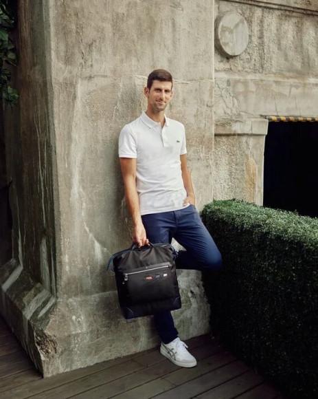 Новак Джокович в рекламной кампании Montblanc, сентябрь 2021