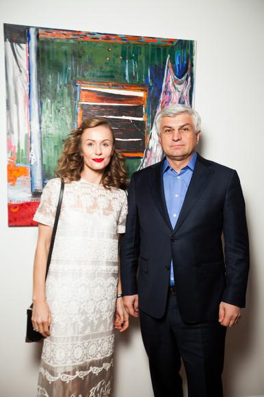 Алеся Градова с мужем Станиславом
