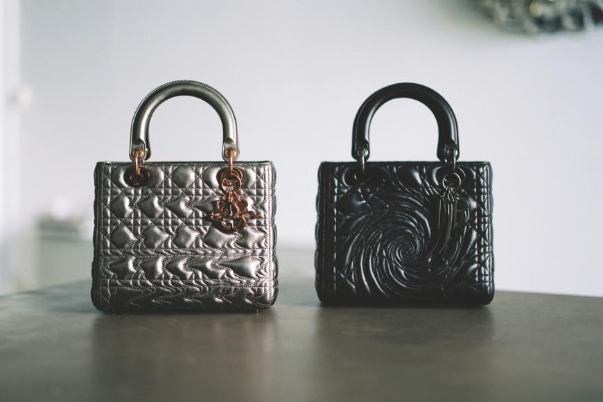 Сумки Lady Dior Art, представленные Recycle