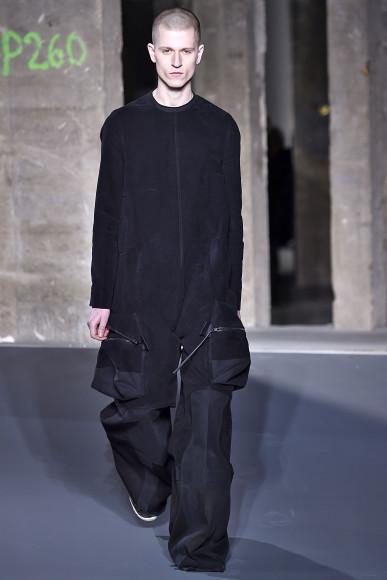 Rick Owens. Парижская неделя моды, мужской показ, осень-зима 2016/2017.