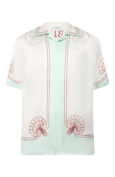 Шелковая рубашка Casablanca, 51 950 руб.