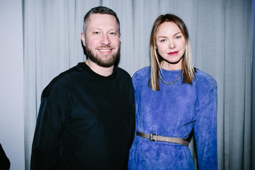 Максим Ливси и Наталья Догадина