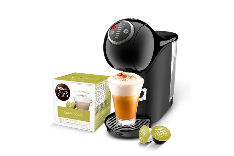 Капсульная кофемашина Krups Genio S Plus, Nescafe, 9990 руб. (dolce-gusto.ru)