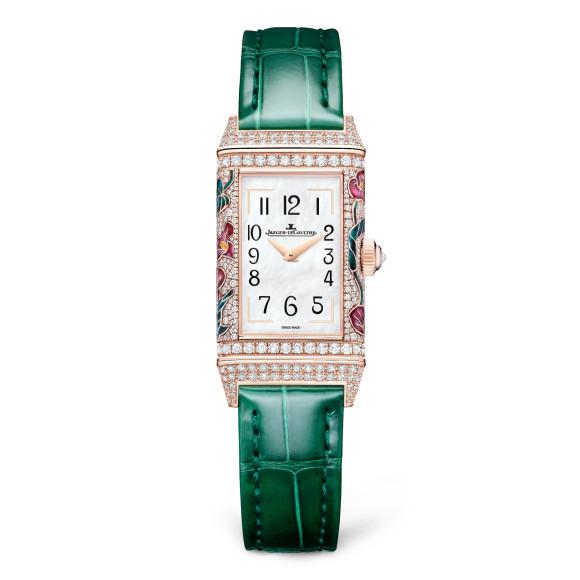 Часы Reverso One Precious Flowers Pink Arums, Jaeger-LeCoultre