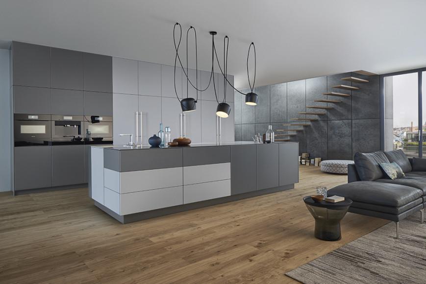 Кухня Le Corbusier с уникальной палитрой Couleurs®