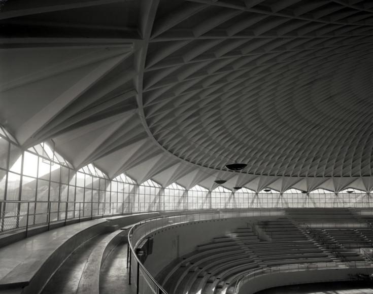 Малый дворец спорта в Риме. 1956–1957