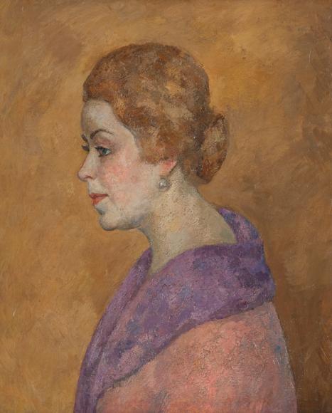 РобертФальк. «Портрет Азарх-Грановской», 1926