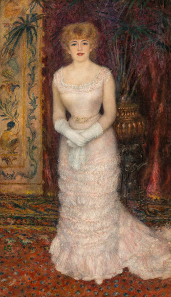 Пьер Огюст Ренуар, Портрет актрисы Жанны Самари, 1877