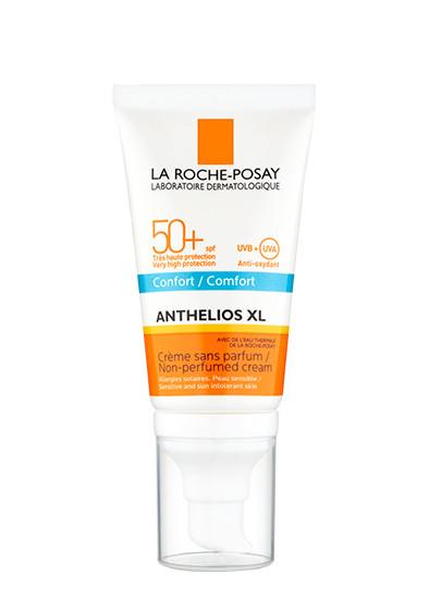 Солнцезащитный водостойкий крем Anthelios Creme Confort SPF 30, La Roche-Posay