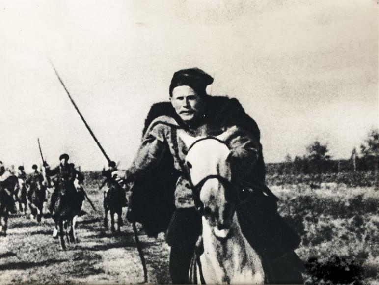 Кадр из фильма «Чапаев», 1934