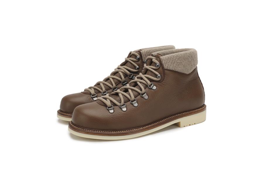 Мужские ботинки Loro Piana, 166 500 руб. (Третьяковский проезд)