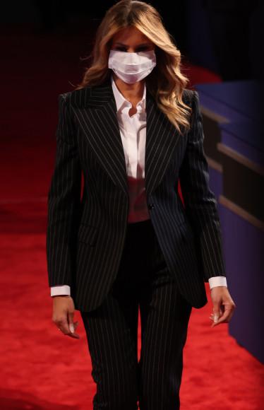 В Dolce & Gabbana перед первыми дебатами Дональда Трампа и Джо Байдена