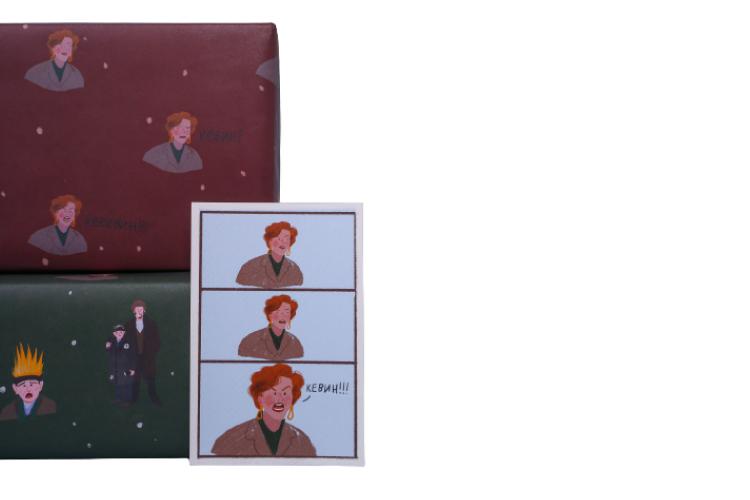 Упаковочная бумага «О'Кевин!», O Paper Paper, 250 руб./шт. («Цветной»)
