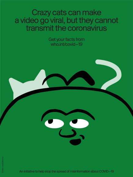 «Забавные коты могут сделать ваше видео вирусным, но не могут передавать коронавирус»