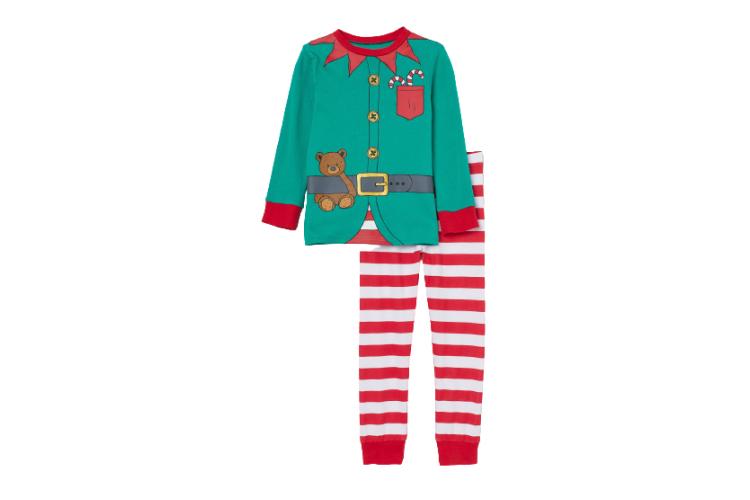 Трикотажная пижама H&M, 899 руб. (hm.com/ru)