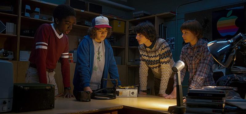 Кадр из сериала «Очень странные дела»