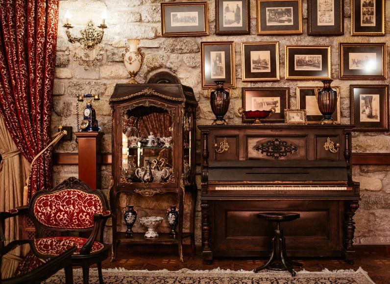 Интерьер музея-ресторана «Ширваншах»