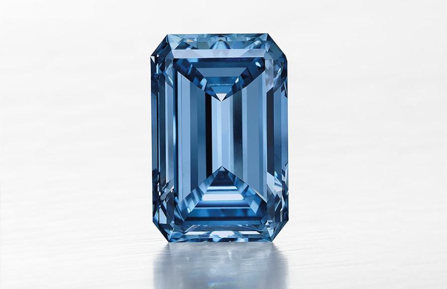 Бриллиант Oppenheimer Blue