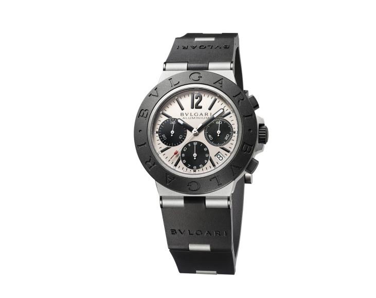 Часы Bvlgari Aluminium Chronograph, Bvlgari