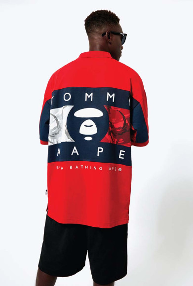 Коллаборация Tommy Jeans X AAPE by A Bathing Ape
