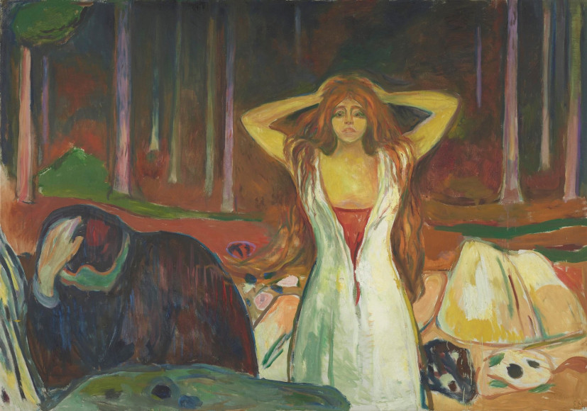 Эдвард Мунк. «Ashes», 1925