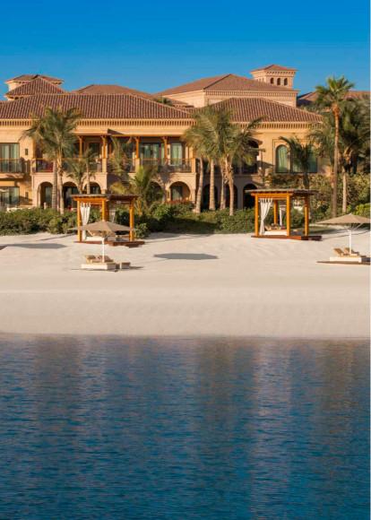 Пляж отеля One&Only The Palm (Дубай)