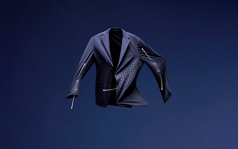 Технологичный костюм B-Tech Boggi Milano