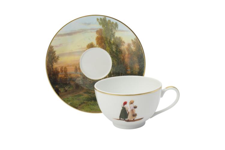 Чайная пара «Вечер», Bernardaud