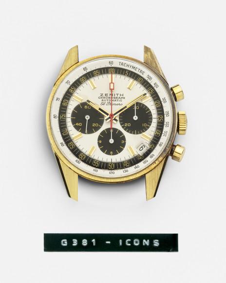 Часы El Primero G381, Zenith Icons, Zenith