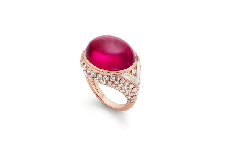 Кольцо Colour Ripple, рубеллит 20,32 карата