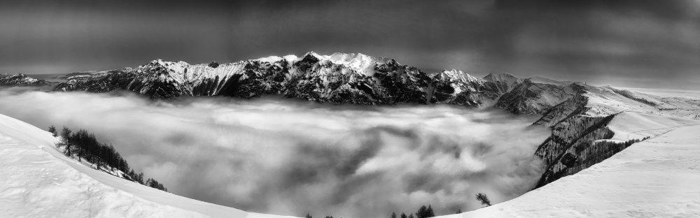Габриэль Родригез, «Над облаками», iPhone XS— победитель в номинации «Панорама»