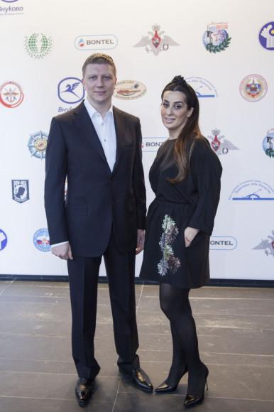 Глава Одинцовского района Андрей Иванов с супругой