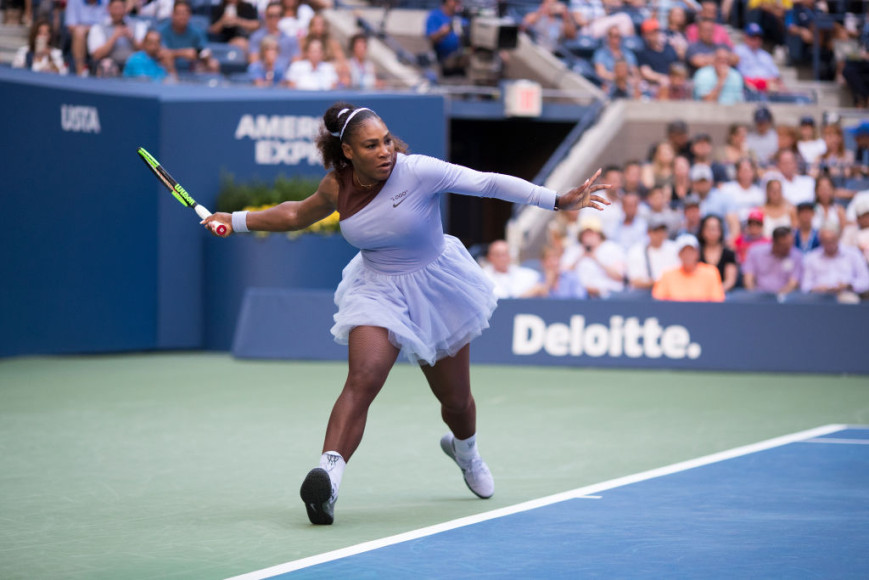 Серена Уильямс на Открытом теннисном турнире, Нью-Йорк, США, 2018