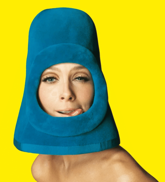 Образ Pierre Cardin, фото для обложки журнала Ragazza Pop, 1972