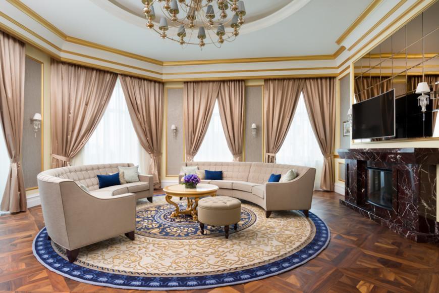 Номер Premier Suite, LOTTE ST. PETERSBURG