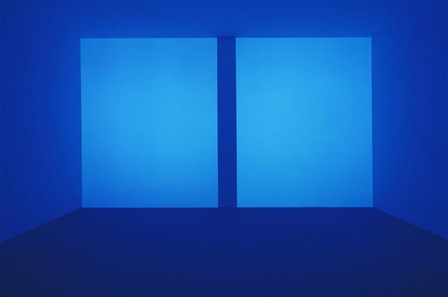 Вид на инсталяцию «James Turrell: 67 68 69», 2016