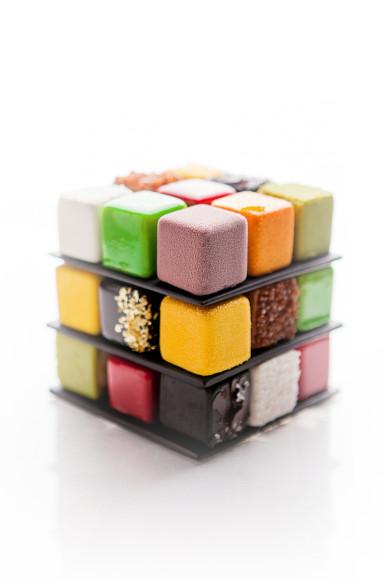 Торт «Кубик-Рубик», La Pâtisserie du Meurice par Cédric Grolet
