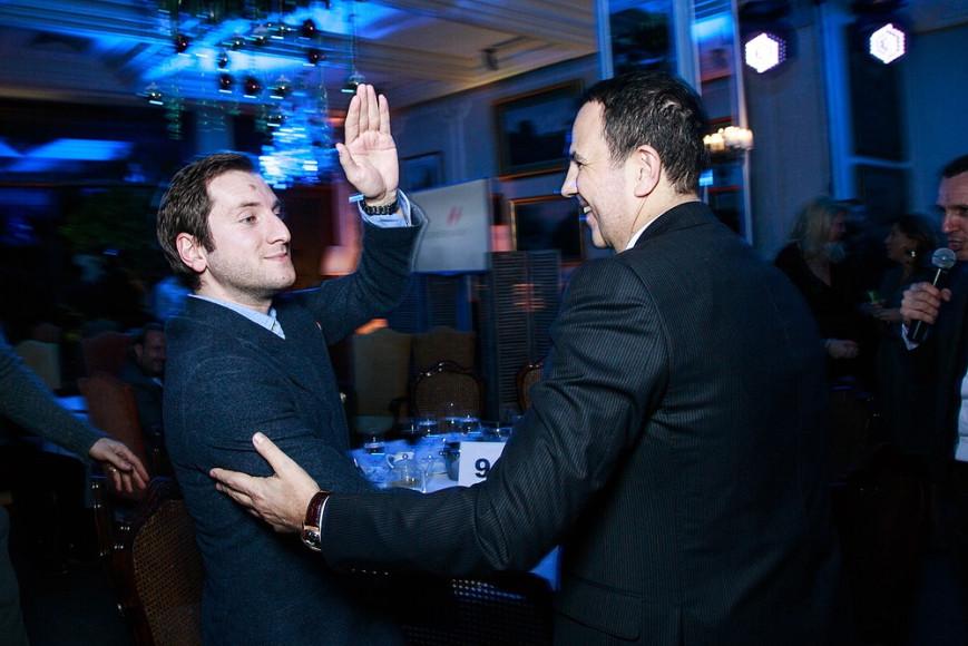 Реваз Гигенйшвили (режиссер) и Авни Аквардар (президент Renaissance Construction)