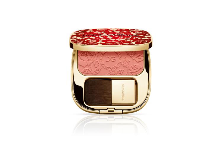 Румяна с эффектом сияния Blush Of Roses, 400 Peach, Dolce & Gabbana (ЦУМ)