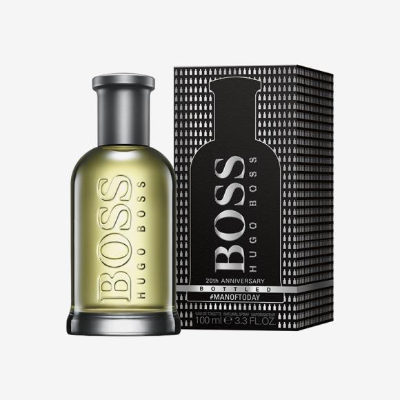 Лимитированное издание BOSS Bottled 20th ANNIVERSARY, Hugo Boss. Цена: 100 мл — 6449 руб.