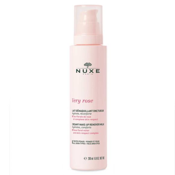 Молочко для снятия макияжа для лица и глазVery Rose, Nuxe