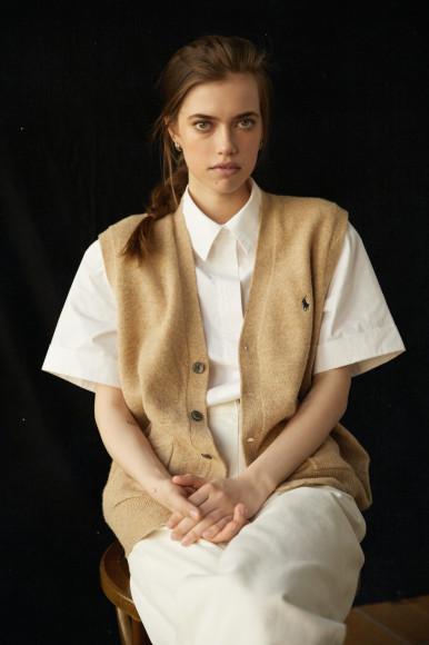 Рубашка и брюки 12 storeez, жилет винтаж