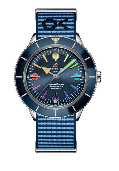 Часы Superocean Heritage 57 Rainbow Limited Edition II,Breitling