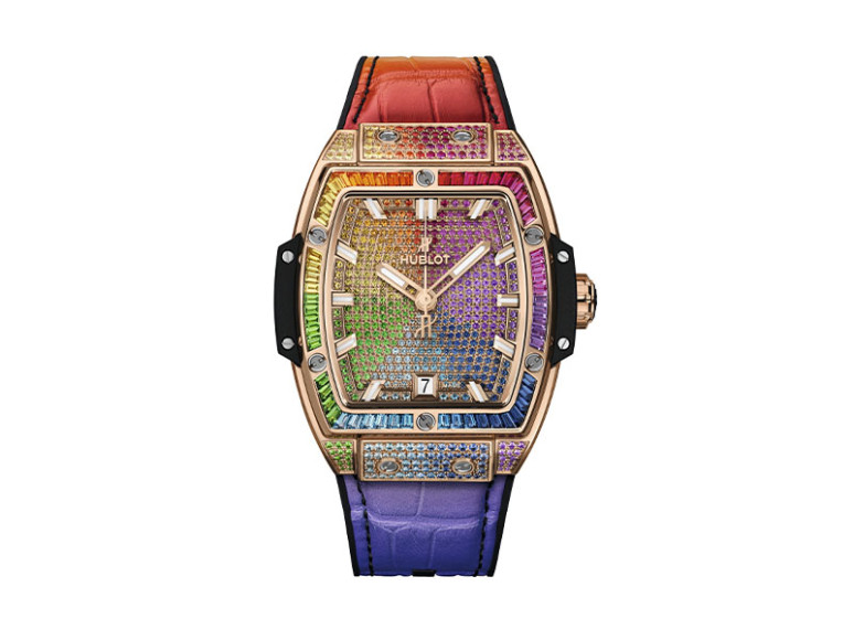 Часы Soirit of Big Bang King Gold Rainbow,Hublot