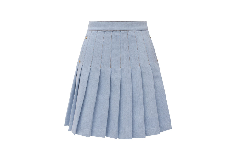 Джинсовая юбка Balmain, 86 150 руб. (ЦУМ)