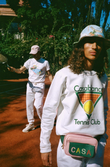 Коллекция Casablanca, весна-лето 2020