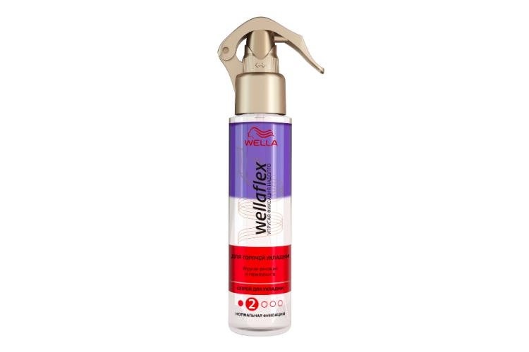 Спрей для волос «Стиль и термозащита», Wella Flex
