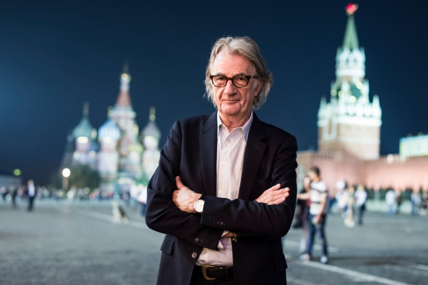 Пол Смит на Красной площади