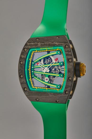 Часы Yohan Blake, «Beast», Richard Mille. Эстимейт $300–600 тыс.
